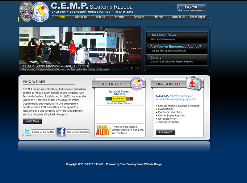 Our Website in 2012