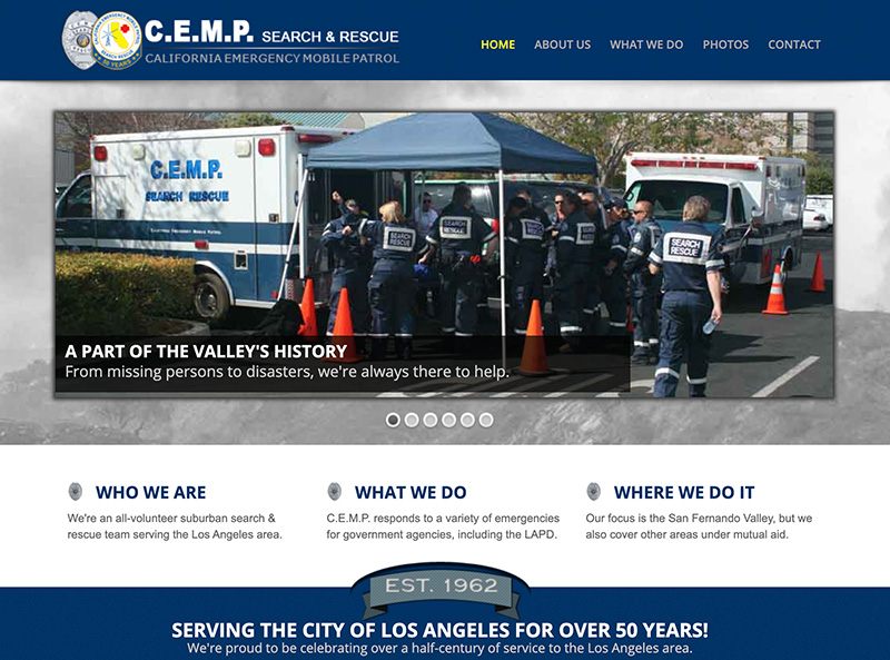 Website in 2014